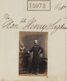 Hon. Henry Sugden, by Camille Silvy - NPG Ax63903