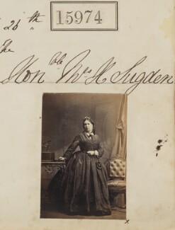 Marianne Sugden (née Cookson), by Camille Silvy - NPG Ax63904