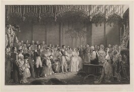The Marriage of Her Most Gracious Majesty Queen Victoria, by Charles Edward Wagstaff, published by  Henry Graves & Co, after  Sir George Hayter, published 9 November 1844 - NPG  - © National Portrait Gallery, London