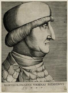 Bartholomew of Urbino, by Antoine Lafréry - NPG D37678