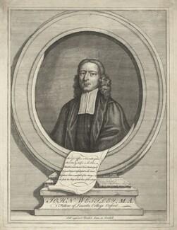 John Wesley, by Unknown artist, after 1727 - NPG D37682 - © National Portrait Gallery, London