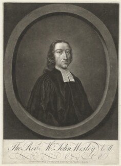 John Wesley, printed and sold by John Tinney, before 1761 - NPG D37683 - © National Portrait Gallery, London