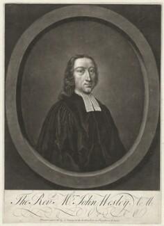 John Wesley, printed and sold by John Tinney - NPG D37683