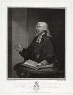 John Wesley, by James Fittler, published by  James Milbourne, published by  John Brydon, after  William Hamilton - NPG D37685