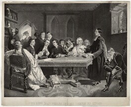 John Wesley ('The Revd John Wesley and his friends at Oxford'), published by Selig Lipschitz - NPG D37687