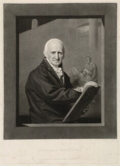 Benjamin West, published by Robert Simpson, published by  Ackermann & Co - NPG D37691