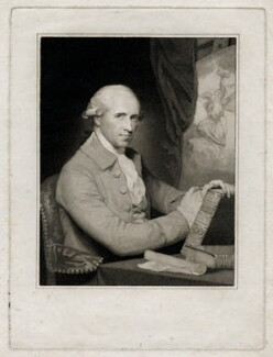 Benjamin West, by Caroline Watson, after  Gilbert Stuart - NPG D37695