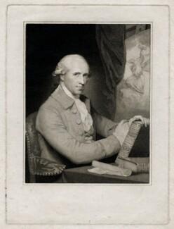 Benjamin West, by Caroline Watson, after  Gilbert Stuart, published 1786 (circa 1785) - NPG D37695 - © National Portrait Gallery, London