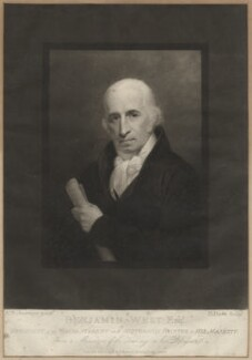 Benjamin West, by George Dawe, published by and after  Andrew Robertson - NPG D37700