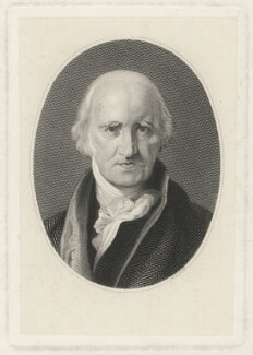 Benjamin West, by Unknown artist - NPG D37701