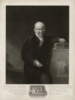 Benjamin West, by and published by James Fittler, after  George Henry Harlow - NPG D37816