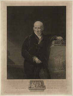 Benjamin West, by and published by James Fittler, after  George Henry Harlow - NPG D37817