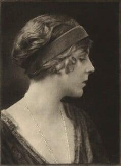 Lady Diana Cooper (Diana (née Manners), Viscountess Norwich), by Emil Otto ('E.O.') Hoppé, 1916 - NPG Ax132928 - © 2017 E.O. Hoppé Estate Collection / Curatorial Assistance Inc.