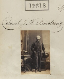James Wells Armstrong, by Camille Silvy - NPG Ax62258