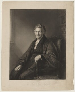 John Leifchild, by John Linnell, published by  John Leifchild - NPG D37276