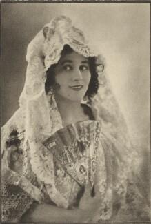 Carmen Tórtola Valencia, by E.O. Hoppé - NPG Ax132935