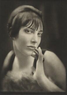 Maria Di Castellani, by E.O. Hoppé - NPG Ax132938