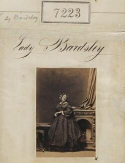 Elizabeth (née Brunt), Lady Bardsley, by Camille Silvy - NPG Ax57136
