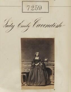 Lady Emily Augusta Cavendish (née Lambton), by Camille Silvy - NPG Ax57170