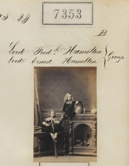 Lord Ernest William Hamilton; Lord Frederick Spencer Hamilton, by Camille Silvy - NPG Ax57263