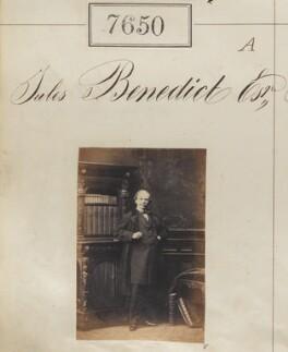 Sir Julius Benedict, by Camille Silvy - NPG Ax57489