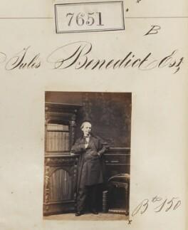 Sir Julius Benedict, by Camille Silvy - NPG Ax57490