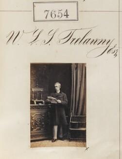 Sir William Lewis Salusbury-Trelawny, 10th Bt, by Camille Silvy - NPG Ax57493