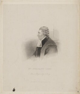 John Lens, by Charles Penny, published by  Anna Sweet - NPG D37302