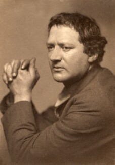 Jacob Epstein, by George Charles Beresford, 1 November 1916 - NPG x6395 - © National Portrait Gallery, London