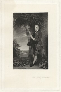 John Fane, 9th Earl of Westmorland, by Robert Bowyer Parkes, after  Sir Joshua Reynolds - NPG D37832