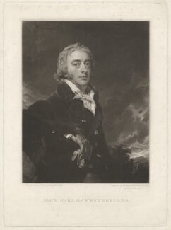 John Fane, 10th Earl of Westmorland, by Samuel William Reynolds, and by  Samuel Cousins, after  Sir Thomas Lawrence - NPG D37834