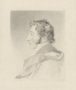 John Fane, 11th Earl of Westmorland, by John Bull, published by  Welch & Gwynne, after  Sir Thomas Lawrence - NPG D37835