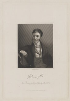 Hugh Fortescue, 2nd Earl Fortescue, by William Holl Jr, published by  John Saunders, after  Sir George Hayter, published 1840 - NPG D37744 - © National Portrait Gallery, London
