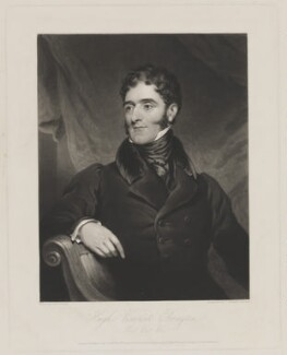 Hugh Fortescue, 2nd Earl Fortescue, by and published by Charles Turner, and published by  Paul and Dominic Colnaghi & Co, after  James Ramsay - NPG D37746