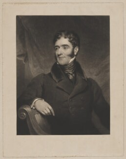 Hugh Fortescue, 2nd Earl Fortescue, by Charles Turner, after  James Ramsay, published 1835 - NPG D37747 - © National Portrait Gallery, London