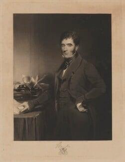 Hugh Fortescue, 2nd Earl Fortescue, by Samuel William Reynolds, published by  William Walker, after  Samuel William Reynolds Jr - NPG D37748