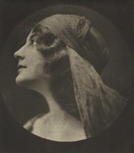 Malvina Longfellow, by E.O. Hoppé - NPG Ax132947