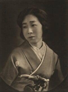 Mrs Iyemasa Tokugawa, by E.O. Hoppé - NPG Ax132957