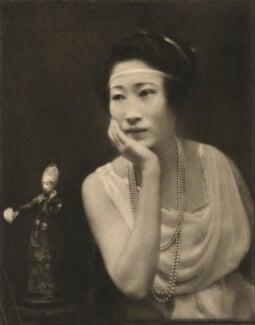 Madame Wellington Koo (née Hui-lan Oei), by E.O. Hoppé - NPG Ax132958