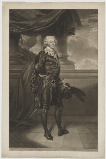 William Thomas Lewis as the Marquis in Elizabeth Inchbald's 'The Midnight Hour', by and published by John Jones, after  Sir Martin Archer Shee - NPG D37317