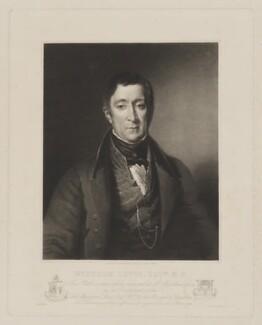 Wyndham Lewis, by Samuel William Reynolds, printed by  Lahee & Co - NPG D37318