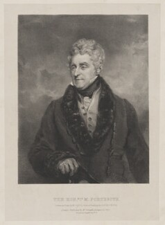 Matthew Fortescue, by Maxim Gauci, published by  Engelmann & Co, after  John Jackson - NPG D37755