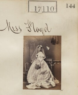 Miss Floyd, by Camille Silvy, 1866 - NPG Ax64987 - © National Portrait Gallery, London