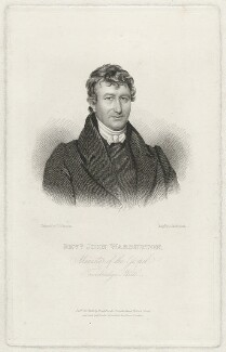 John Warburton, by John Thompson, published by  H.G.R. Brooks, sold by  E. Fowler, after  T.G. Brooks, published October 1832 - NPG D37481 - © National Portrait Gallery, London