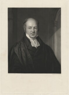 John Ward, by George Raphael Ward, after  John Lucas - NPG D37485