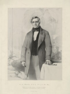 Nathaniel Bagshaw Ward, by Richard James Lane, printed by  M & N Hanhart, after  John Prescott Knight - NPG D37486