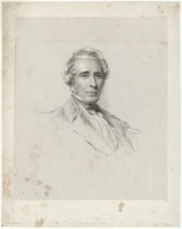 Vice Chancellor Ward, by Francis Holl, after  George Richmond - NPG D37488