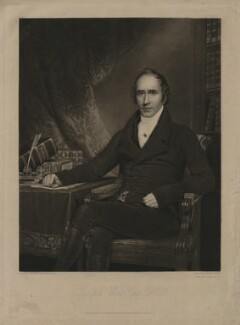 Ralph Wardlaw, by Henry Edward Dawe, published by  Robert Scott, published by  Wardlaw & Cunningham, after  Peter Paillou - NPG D37491