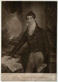 Gwyllym Lloyd Wardle, by and published by Robert Dunkarton, after  Arthur William Devis - NPG D37493