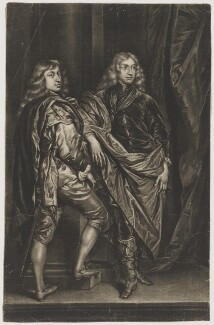 Lord Bernard Stuart; Lord John Stuart, after Sir Anthony van Dyck - NPG D37325